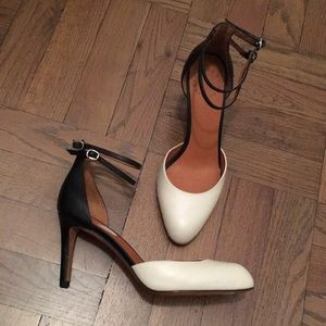 Black and White Heels by Marc Jacobs